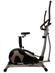 AsVIVA C18 Cross und Heimtrainer 2 in 1 Cardio Elliptical, 127 x 62 x 126 cm